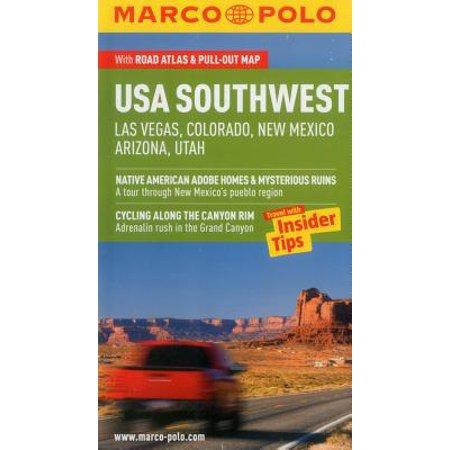 Marco Polo USA Southwest : Las Vegas, Colorado, New Mexico, Arizona,