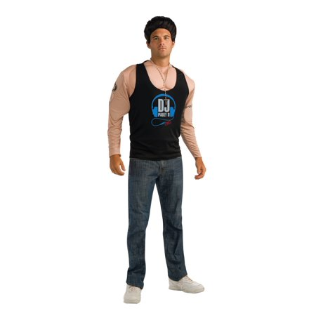 Rubies Mens Jersey Shore Pauly D Muscle Costume & Beaded - Pauly D Costume