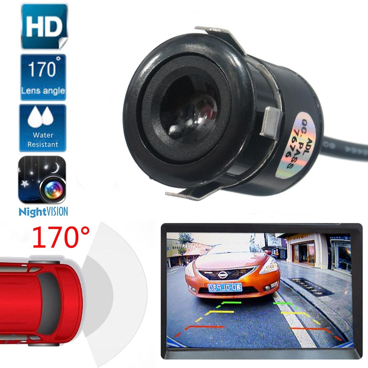 HD 170 Degree CMOS Cars Rear View Camera Waterproof Reverse Backup Camera Night vision