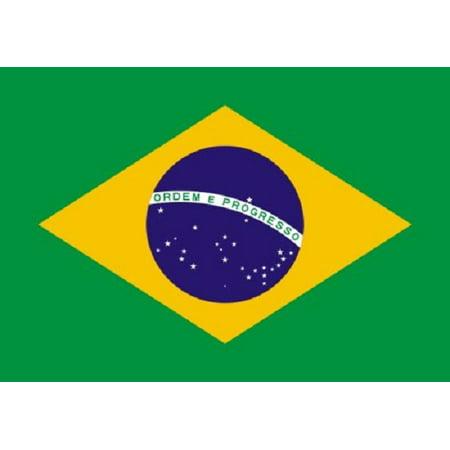 3x5 Brazil Flag Brasil Banner Brazilian Country Pennant New Brazil Country Flag
