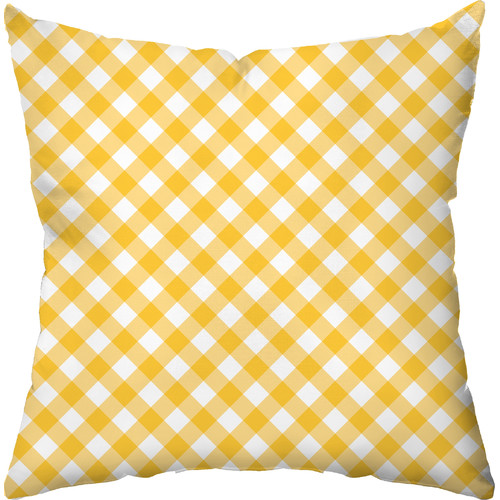 Checkerboard, Ltd Gingham Outdoor Throw Pillow