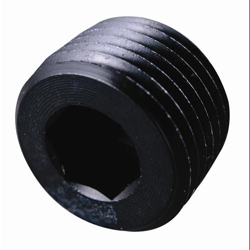 Fragola Performance Systems 493204-BL 3/8 MPT PIPE PLUG-INTERNAL   BLACK