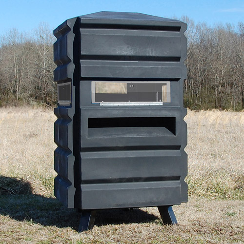 Sportsman's Condo SC1 One Person Hunting Blind, Black