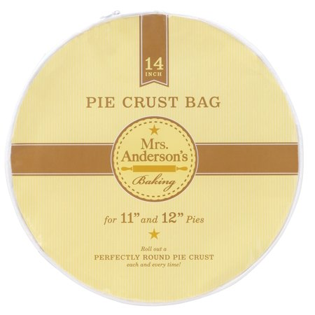 Pie Crust Maker - Mrs. Anderson's Baking Easy No-Mess Pie Crust Maker Bag, 14-Inches