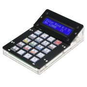 DIY Calculator Counter Kit with Acrylic Case LCD Display Multi-purpose Electronic Calculator Counter Electronics Computing