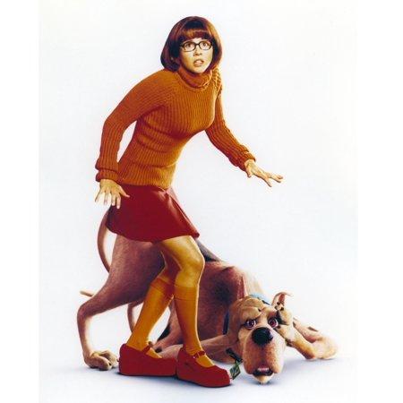 Linda Cardellini as Velma From Scooby doo Photo Print](Velma Scooby)
