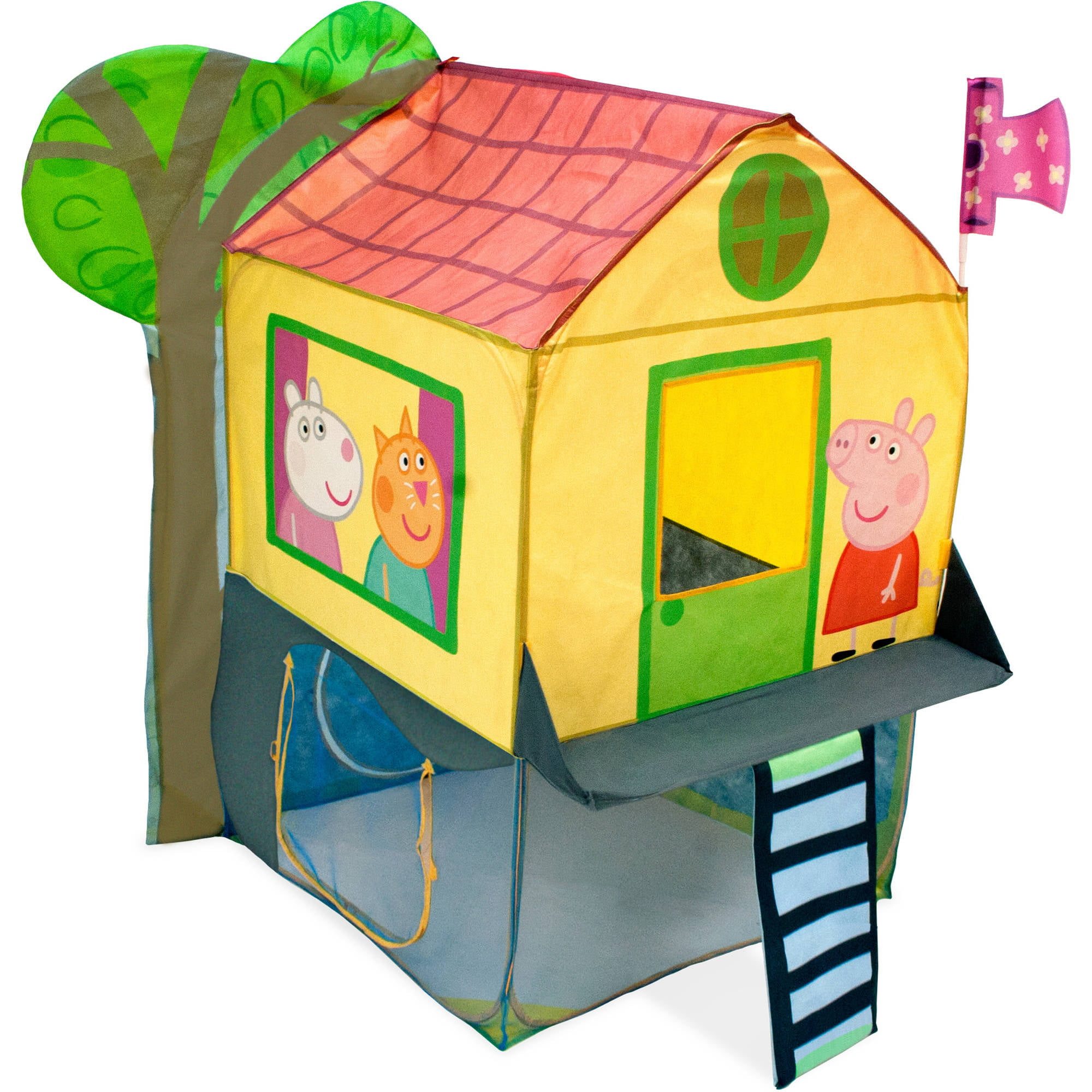 Peppa Pig Tree House Kids Play Indoor Outdoor Toy Tent Xmax New Gift  sc 1 st  eBay & Peppa Pig Tree House Kids Play Indoor Outdoor Toy Tent Xmas New ...