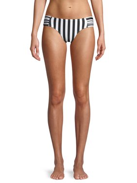 No Boundaries Juniors' Sinatra Stripe Swimsuit Bottom