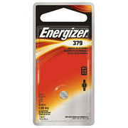 EVEREADY Energizer(R) Silver Oxide Watch/ Electronic Battery #379 1.5V 379BPZ