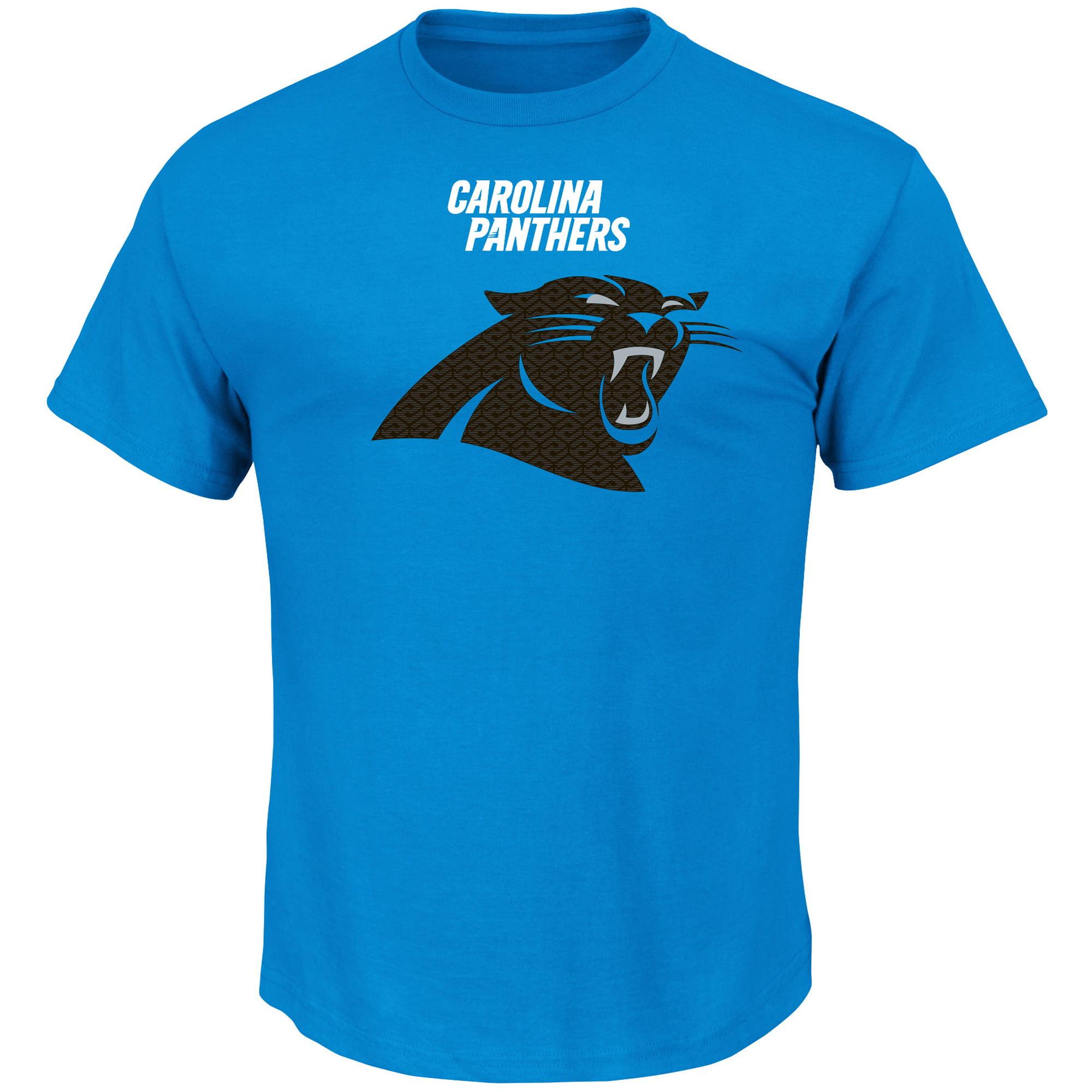 Carolina Panthers Majestic Critical Victory T-Shirt - Blue - L