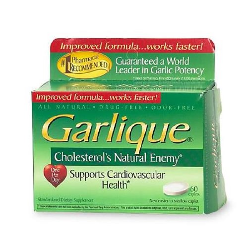 Garlique Caplets 60 Tablets Each