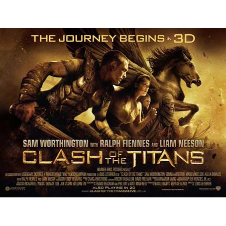 Clash of the Titans POSTER (30x40) (2010)