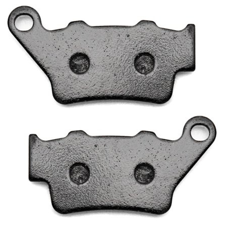 KMG Rear Brake Pads for 2005 KTM SMC 625 - Non-Metallic Organic NAO Brake Pads Set - image 1 de 4