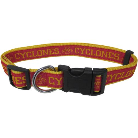 Pets First College Iowa State Cyclones Pet Collar, 3 Sizes Available, Sports Fan Dog Collar