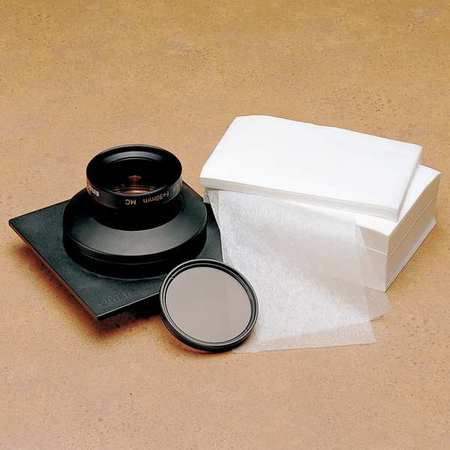 BERKSHIRE LN90.0406.24 Lens Clng Tissue, 4 x 6 In, 1000, PK1000