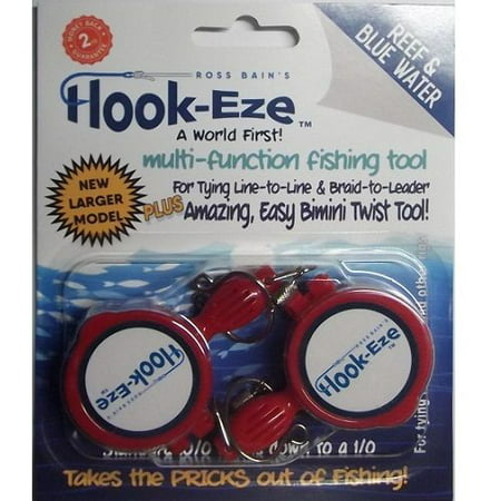 *NEW* LARGE Hook-Eze Reef & Blue Water - Choose your Color (Blue Fish Hooks)