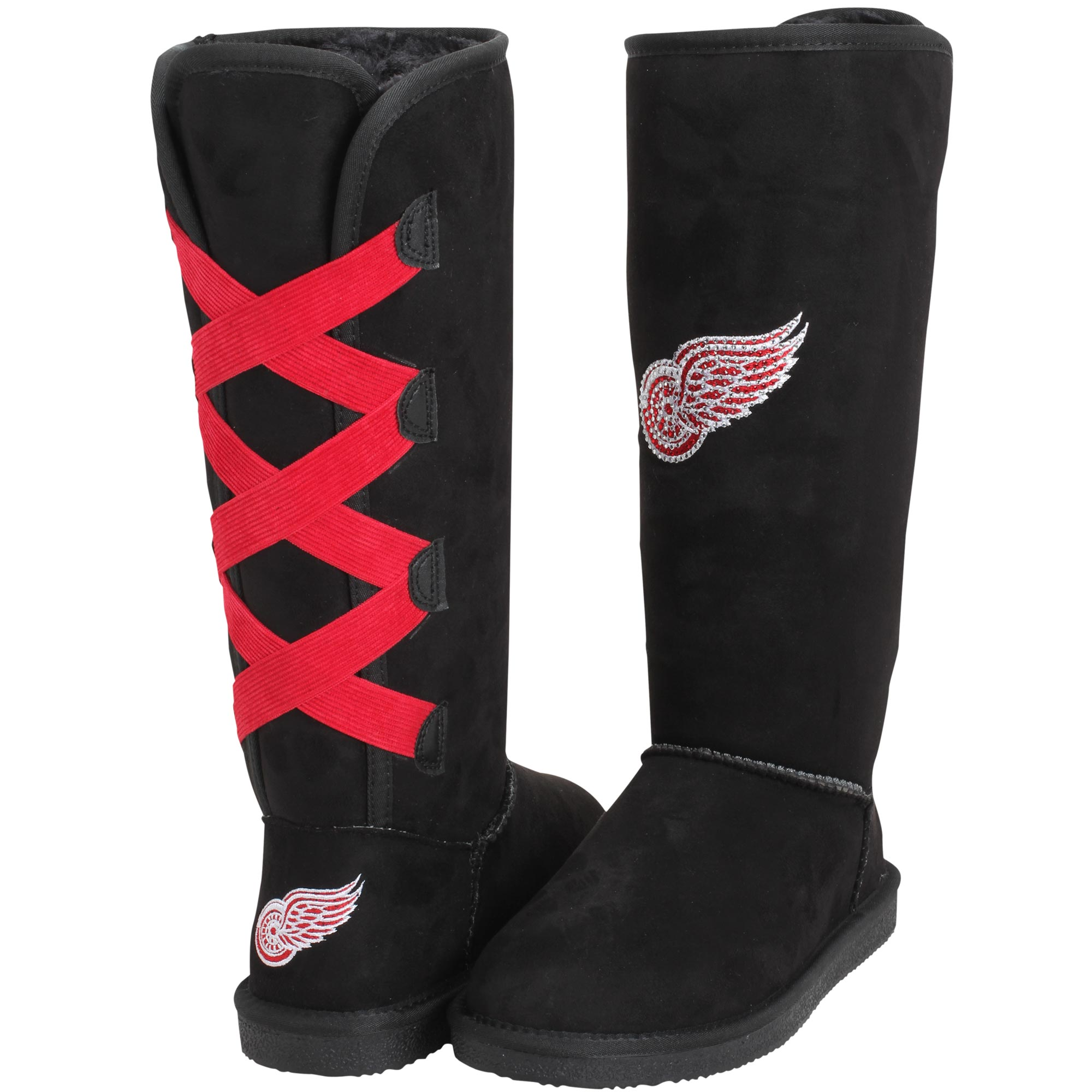 Women's Cuce Detroit Red Wings Victor Boots by Cuce Shoes