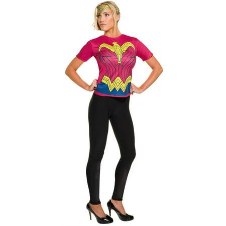 Wonder Woman Top Adult Halloween - Cheap Women Costumes Halloween
