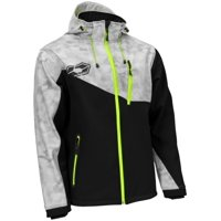 Castle X Barrier G2 Alpha Mens Tri-Laminate Jacket Gray/Hi-Vis