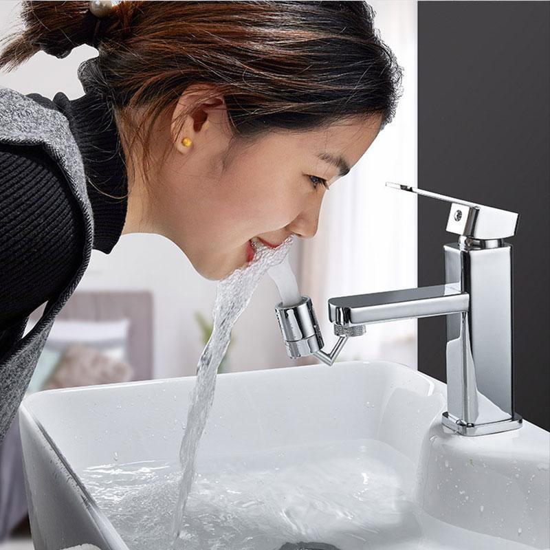 Printasaurus Splash-Proof Faucet/ Universal Splash Filter Faucet 720/° Rotate Water Outlet Faucet 2020 Home /& Garden Kitchen,Dining /& Bar