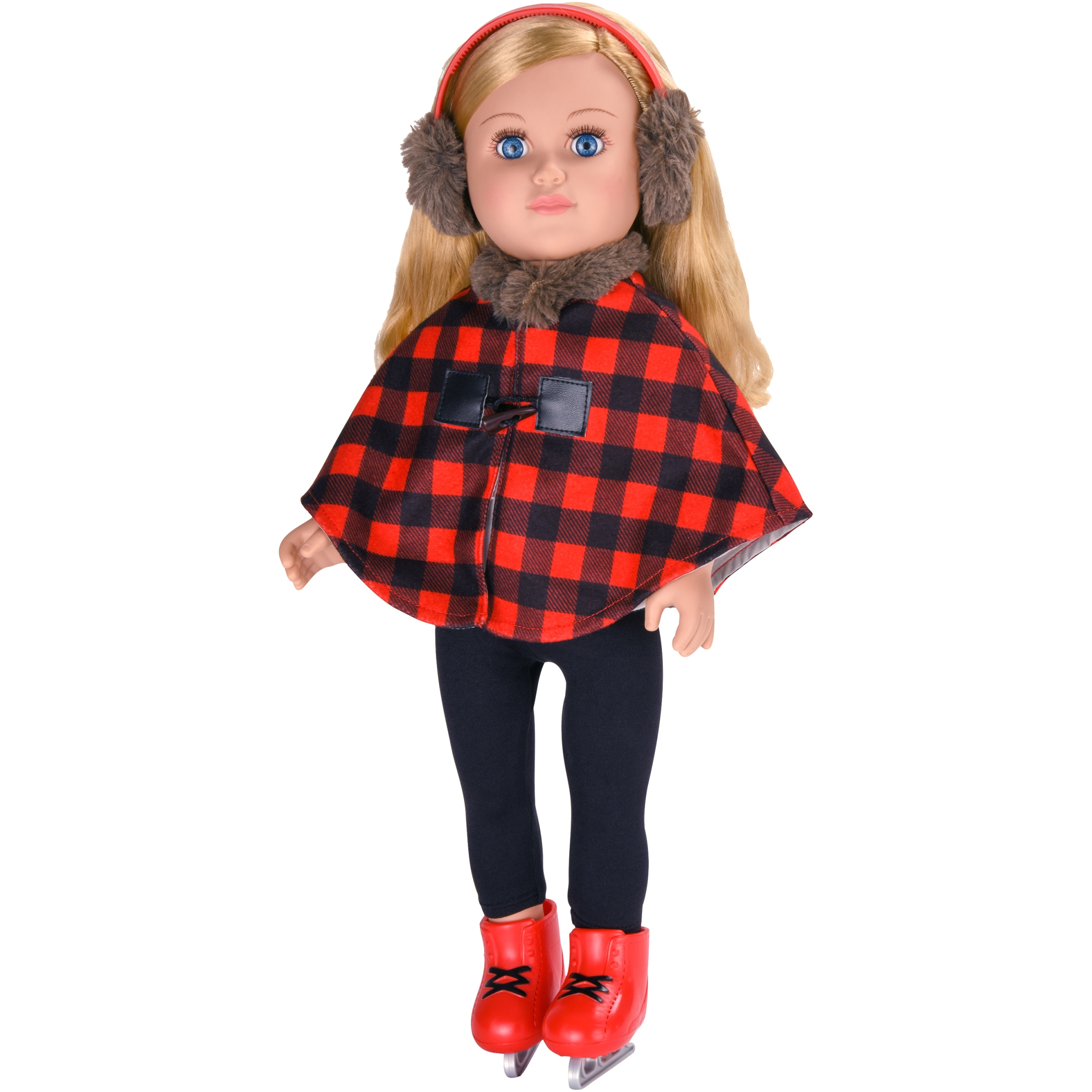 "My Life As 18"" Poseable Ice Skater Doll, Blonde Hair"