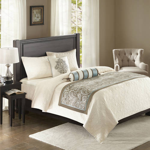 Home Essence Charlotte Bedscarf and Pillow Set