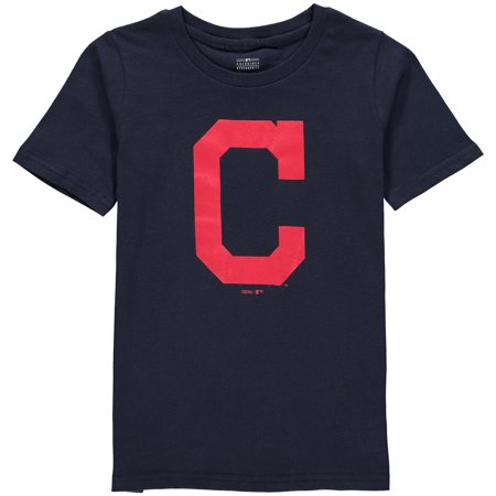Cleveland Indians Youth Primary Logo T-Shirt - Navy Cleveland Browns Youth Short