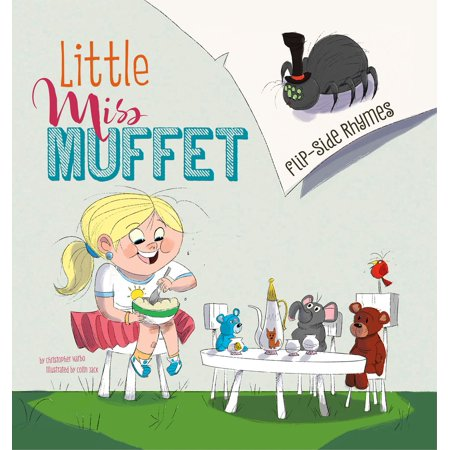 Little Miss Muffet Flip-Side Rhymes - eBook