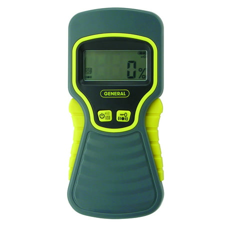 General Tools MMD5NP Moisture Meter, Pinless, Digital LCD