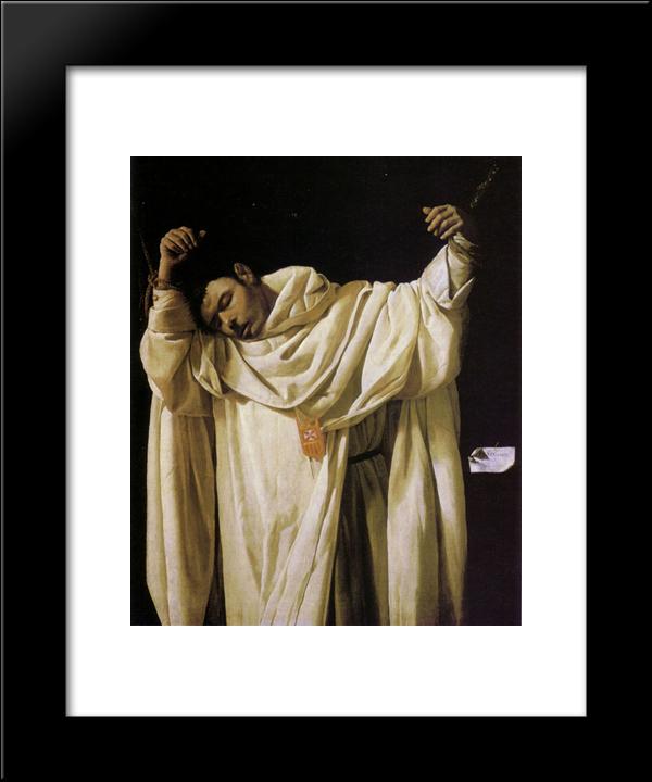 Beato Serapio 20x24 Framed Artwork Print by Francisco de Zurbaran by FrameToWall