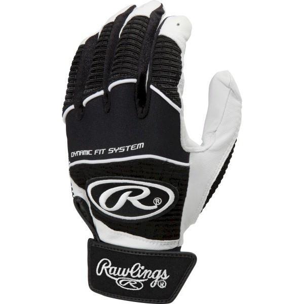 *Rawlings Workhorse WORK950BG-B-88 Black S Batting Gloves
