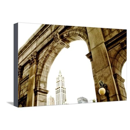 San Remo New York Stretched Canvas Print Wall Art By Angela