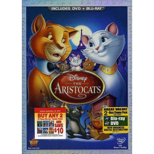 The Aristocats (Special Edition) (DVD + Blu-ray) (Widescreen)