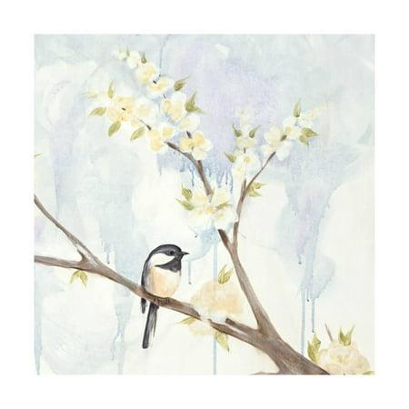 Spring Chickadees II Print Wall Art By Jade - Chickadee Magazine