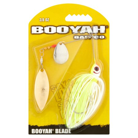 BOOYAH Blade Tandem White Chartreuse 3/8 Oz