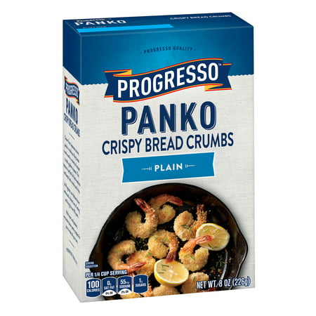 Plain Bread Crumbs - (4 Pack) Progresso Panko Plain Crispy Bread Crumbs, 8 oz Box