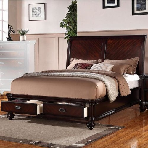 Darby Home Co Landyn Immaculate Wooden Sleigh Bed