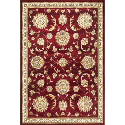 KAS Rugs Cambridge Red & Beige Area Rug