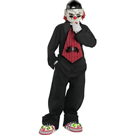 Street Mime Boys Child Halloween Costume, One Size, M (7-8)](Adult Mike Costume)