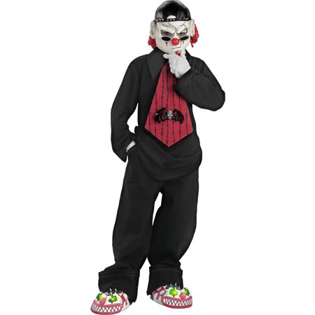 Street Mime Boys Child Halloween Costume, One Size, M (7-8) for $<!---->