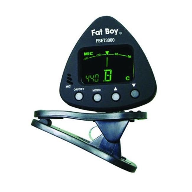 Fat Boy Clip-on Electronic Guitar Tuner