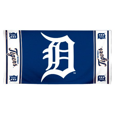 MLB Detroit Tigers 30 by 60 Fiber Reactive Beach Towel - image 1 of 1