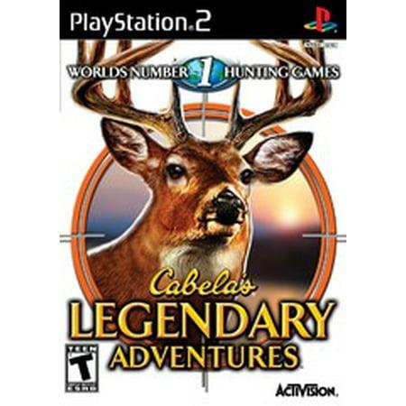 Cabelas Legendary Adventures - PS2 Playstation 2 (Refurbished) desc
