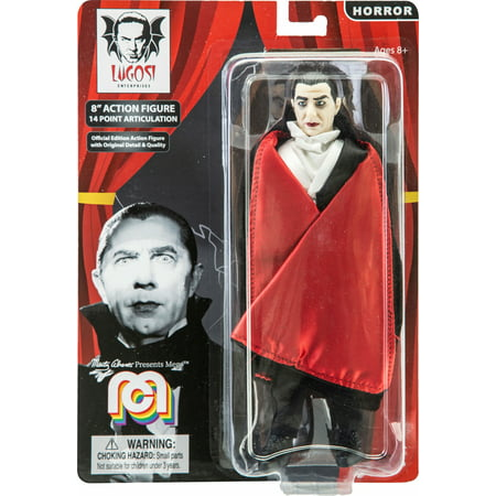 """Dracula Toy (Mego Action Figure, 8"""" Dracula with Red Cape (Limited Edition Collector's Item) )"""
