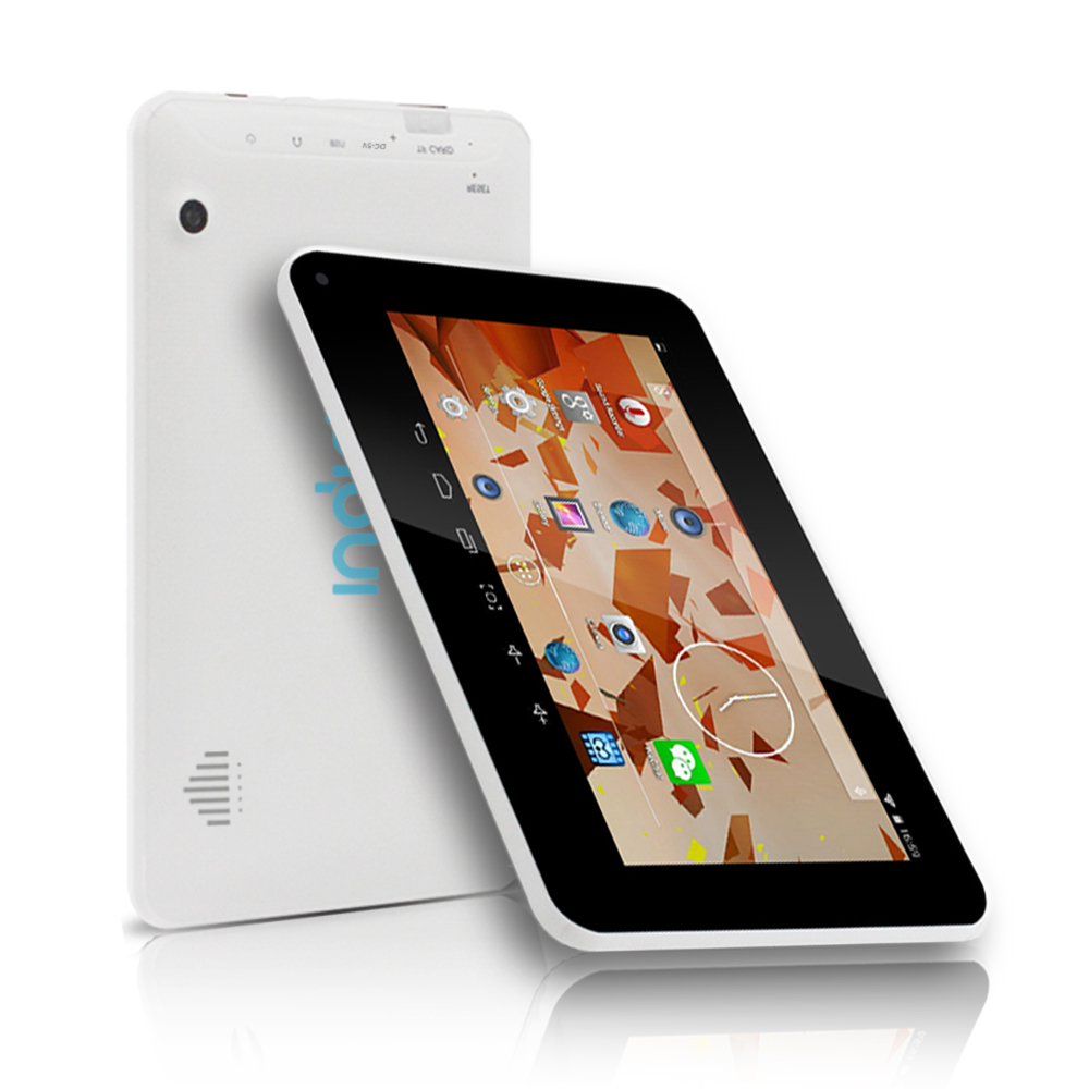"Indigi® Quad-Core Android 4.4 KitKat TabletPC w/ 7.0"" HD + Wifi + Bluetooth Sync + Memory Expansion + Google Play Store"