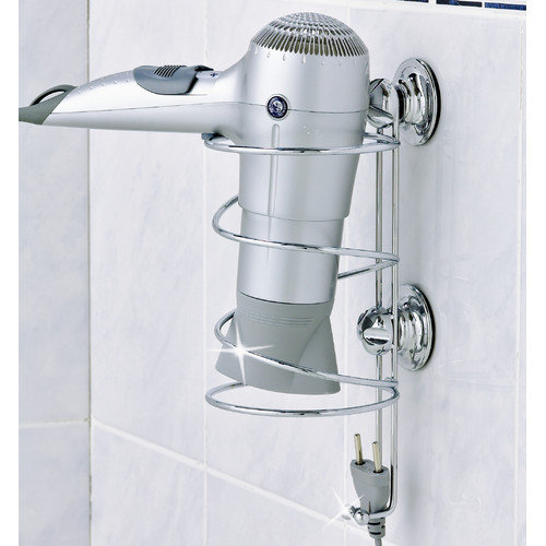 Everloc Suction Cup Hair Dryer Holder