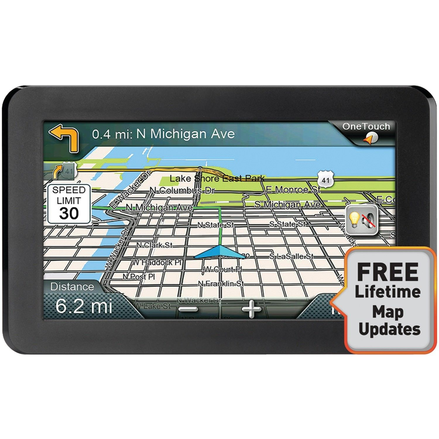"Magellan Rm9600sgluc Roadmate 9600-lm 7"" Gps Navigator With Free Lifetime Maps by Magellan"