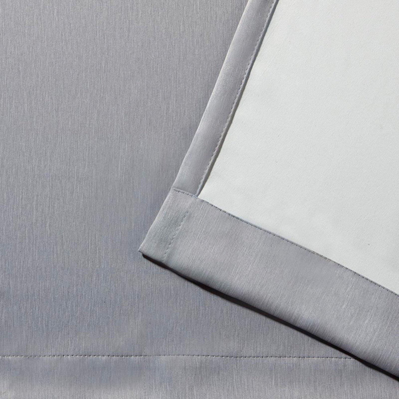 Exclusive Home Heath Textured Linen Woven Room Darkening Grommet Top Window Curtain Panel... by Exclusive Home
