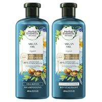 Herbal Essences Bio:Renew Argan Oil Shampoo Conditioner Set, 13.5 oz
