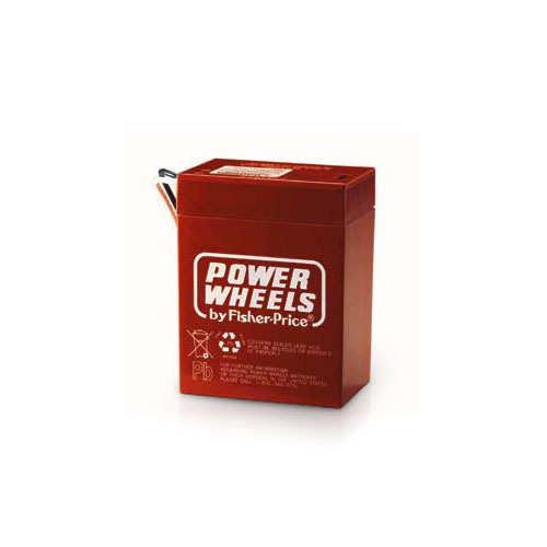 ASST Fisher-Price 6V Replacement Battery